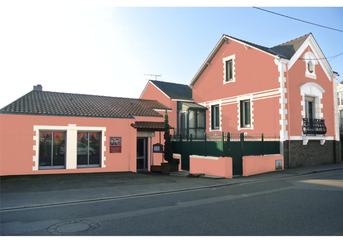Facades De Maisons En Couleurs peinture décoration façade 44 nantes